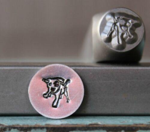 SUPPLY GUY 8mm Puppy Dog Metal Punch Design Stamp SGCH-299