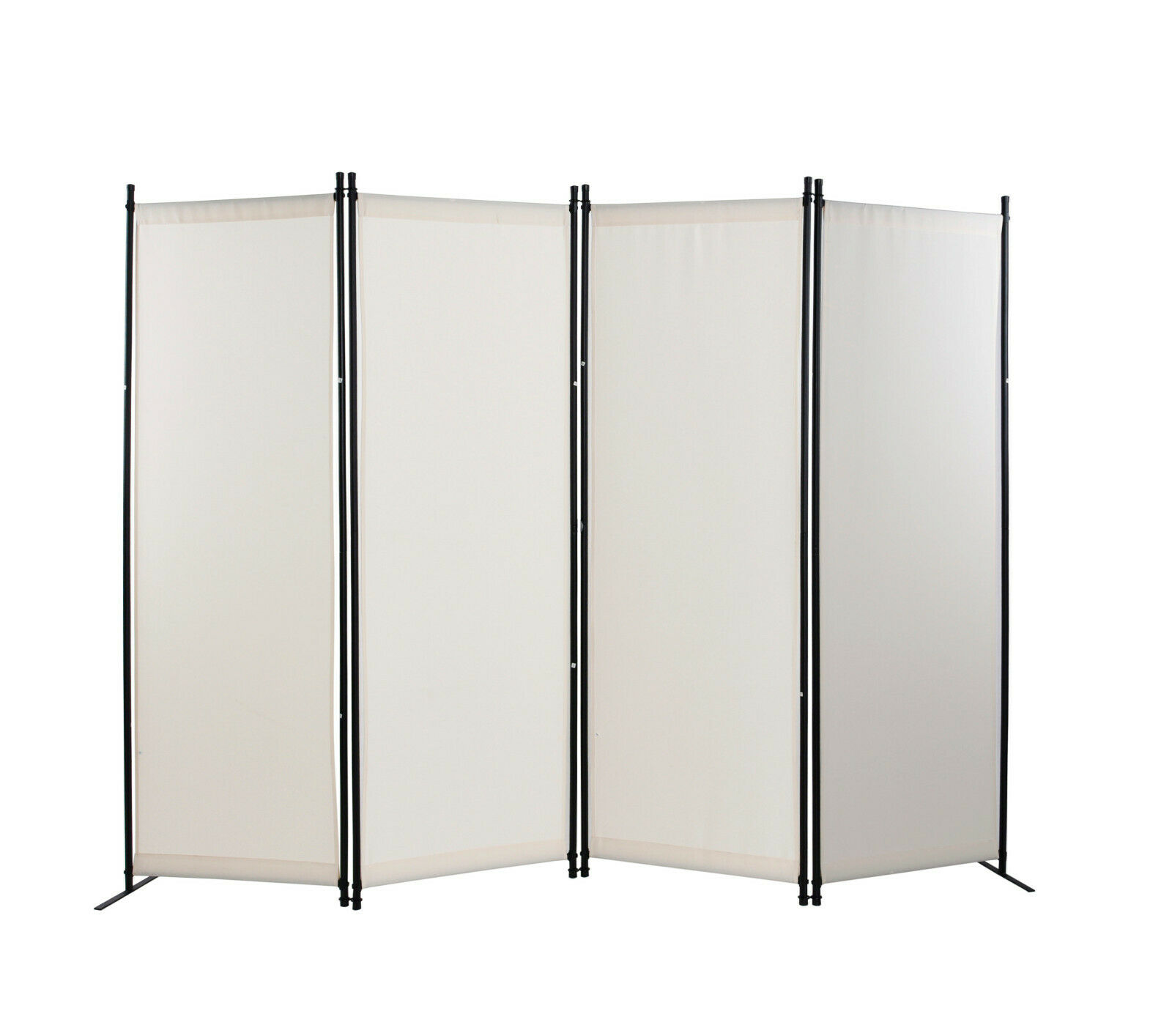 4 Panel Room Divider Privacy Screens Home Office Accents Fur