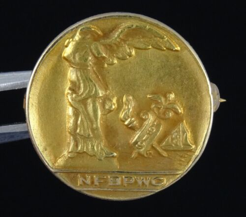 SOLID 14K GOLD NATIONAL FEDERATION of BUSINESS & PROFESSIONAL WOMEN