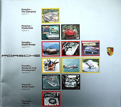 Porsche Company Profile Brochure