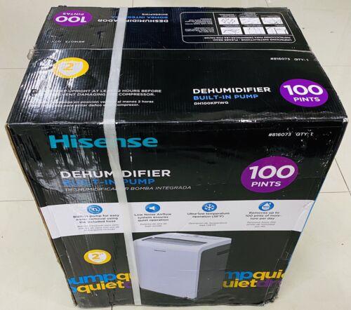 new 100 pint 3 speed dehumidifier