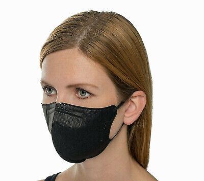 FFP2 Maske, 4-lagige Nanofaser Schutzmasken RespiPro Carbon, 3 Stk. im Pack, CE