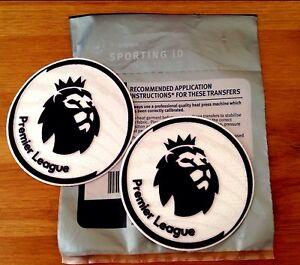 20016-17 PREMIER LEAGUE Soccer Football Lextra SensCilia Badge Patch Set NEW