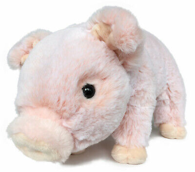 Lifelike Baby Pig Stuffed Animal Piggy Toy - 13 Inches - By ICE KING BEAR
