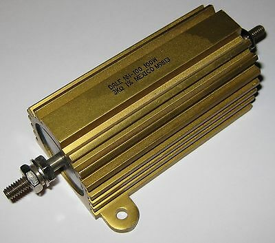 Dale Nh-100 Aluminum Housed Power Resistor - 3000 Ohm - 100 Watt 3 Kohm