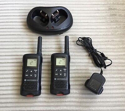 Motorola TLKR T60 (8 Channels) Two Way Radio 8PMR Channel - Black