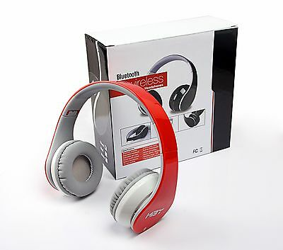 Samsung Red Bluetooth Headphones With Nfc Fit For All Sma...