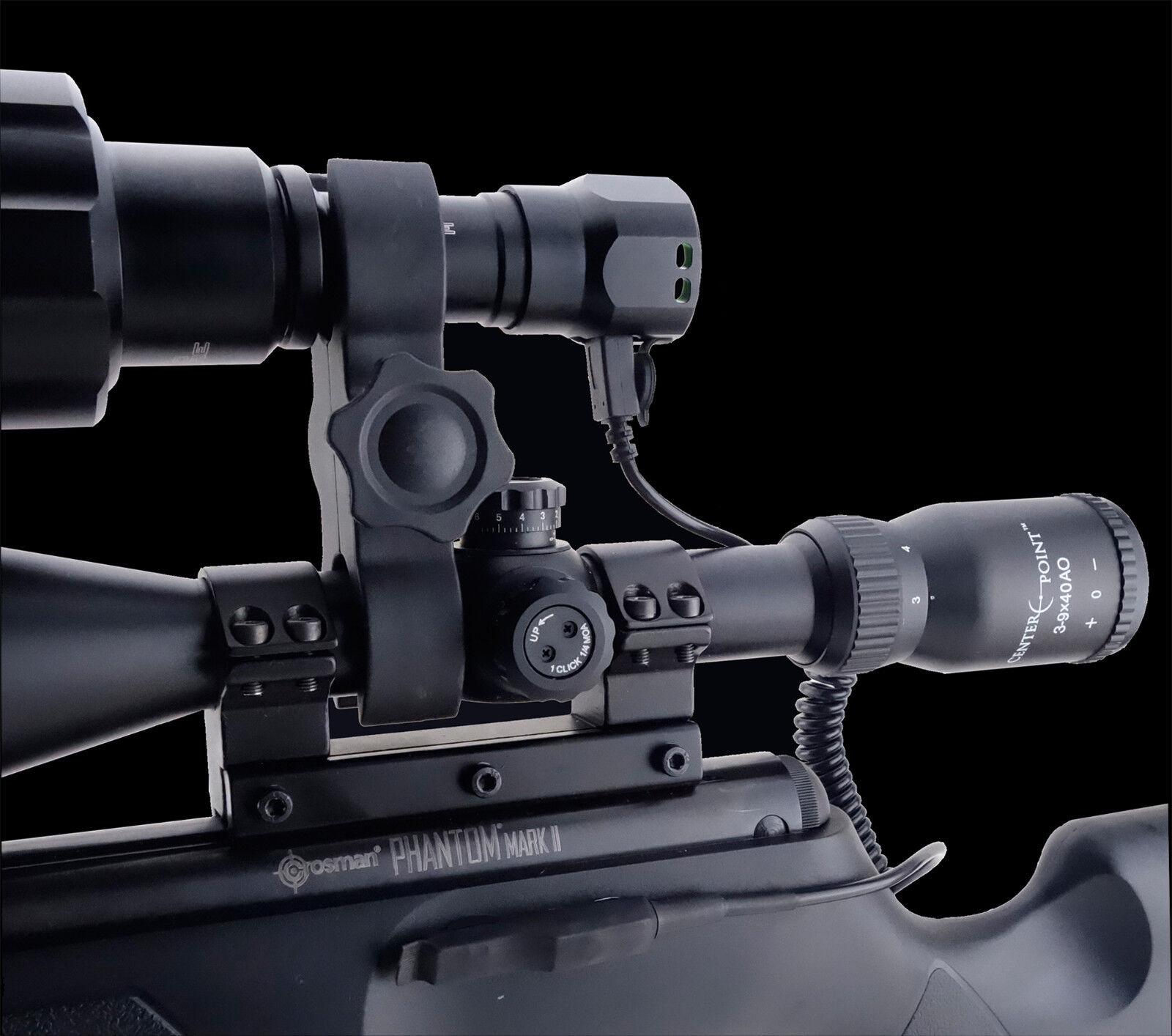 Figure De 8 torche laser Mount 25 mm x 25 mm Rifle Scope torche Support Lamping
