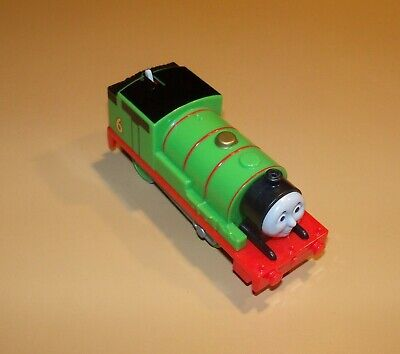 Thomas Train TRACKMASTER Motorized Battery Powered Percy, Works Perfectly