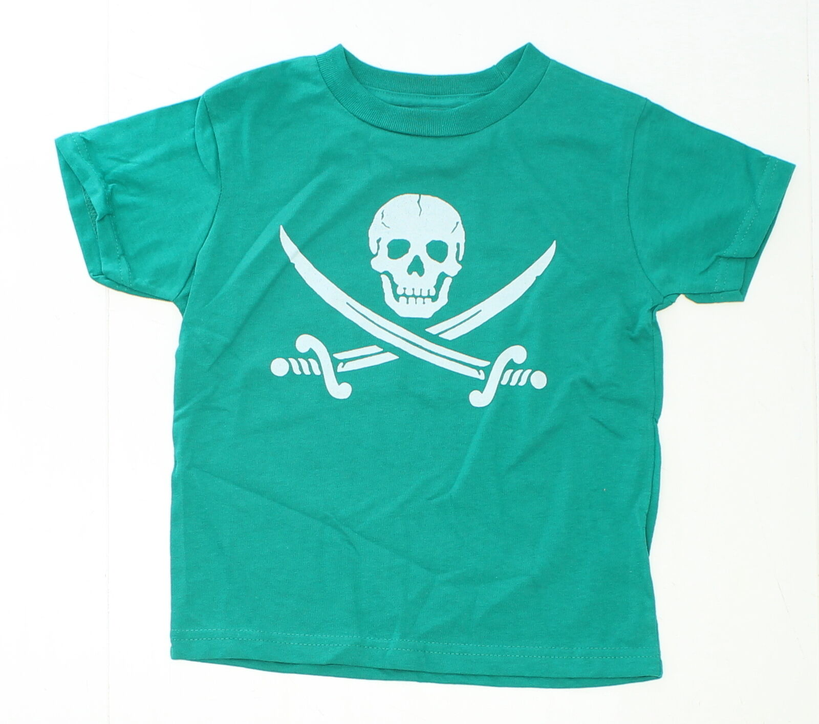 new toddler pirate graphic t shirt green