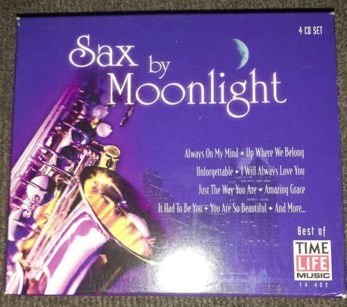 Sax By Moonlight Box Box By Greg Vail CD, Dec-1997, 4 Discs, Time/Life Mus  - $6.95