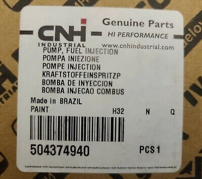 Cnh Case Ih 504374940 Fuel Injection Pump Bosch 0 460 424 478