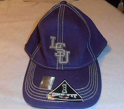 VINTAGE GORGEOUS LSU TIGERS ONE FIT ALL CAP HAT SMALL ADULT NEVER WORN STICKERS