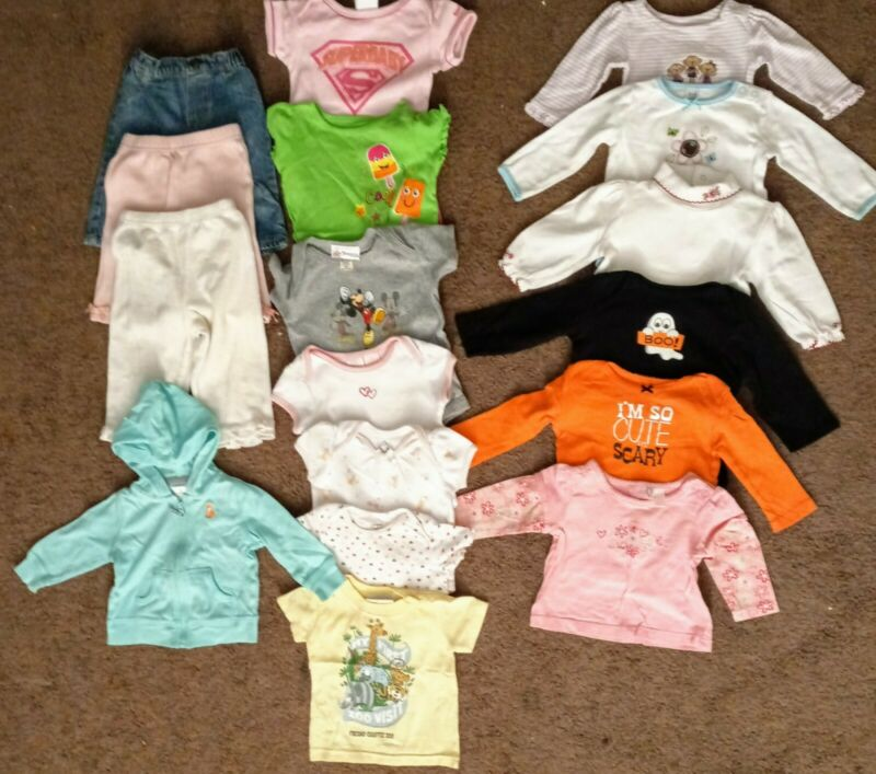 baby clothes 6 to 9 months girls Lot