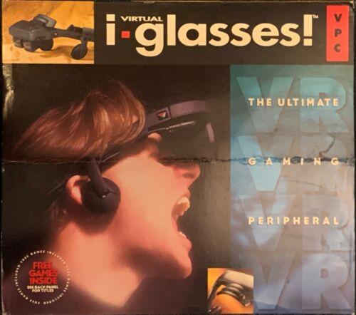 Virtual I-O IO i-Glasses Personal Display System 1995 Amadon & Rhoads VR Headset