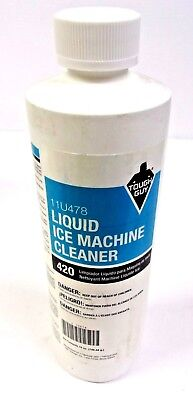 Tough Guy 11u478 Ice Machine Cleaner 16 Oz. Clear