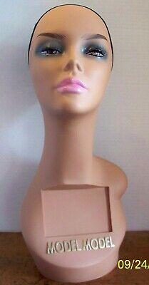 Model Model Mannequin Head Wig Hat Glasses Headphone Display Model Holder
