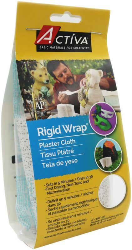 "Rigid Wrap Plaster Cloth 4""X180""-"