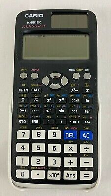 CASIO FX-991EX Advanced Scientific Calculator ClassWiz White Case Solar Powered for sale  Shipping to South Africa