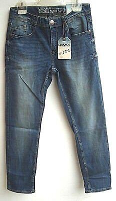 LEMMI Boys Jeans blue denim regular fit Gr.140 - 176 SUPER BIG UVP 29,95 €NEU So Boys Blue Denim