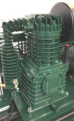 Rolair 5520k17 1.5--2--3 Hp Single Stage Air Compressor Pump W Flywheel K17