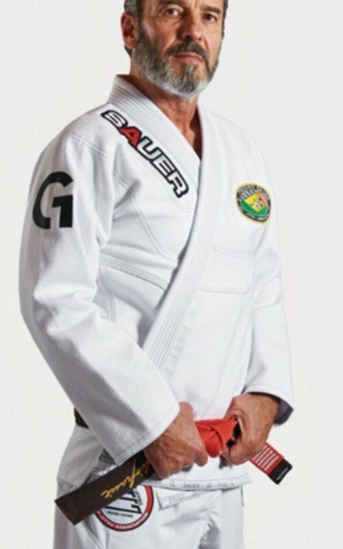 Pedro Sauer Signature GI Grips Athletics BJJ Gracie Brazilian Jiu Jitsu ADULT A5