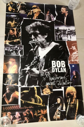 BOB DYLAN The 30th Anniversary Concert Celebration 1993 US PROMO Only POSTER