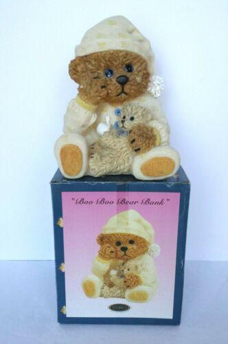 NEW IN BOX BOO BOO BEAR BANK TEDDY BEAR BANK ~ YOUNGS INTERNATIONAL
