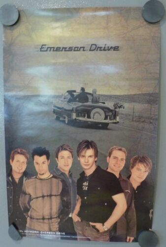 Emerson Drive 2002 11x17 Promo Band Poster