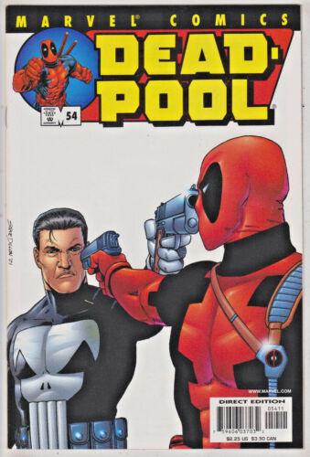 DEADPOOL#54 NM 2001 VS PUNISHER MARVEL COMICS