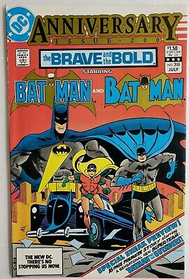 BRAVE AND THE BOLD #200 1ST APP KATANA & BATMAN & THE OUTSIDERS SUICIDE