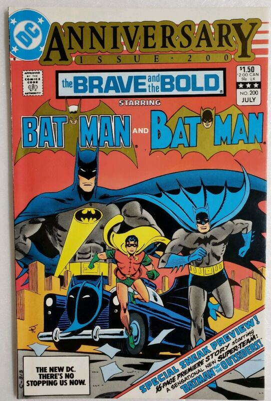BRAVE AND THE BOLD #200 1ST APP KATANA & BATMAN & THE OUTSIDERS SUICIDE SQUAD