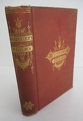 Complete Poetical Works Of John Greenleaf Whittier  1879