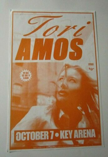 Tori Amos 1999 Original Seattle WA Concert Poster