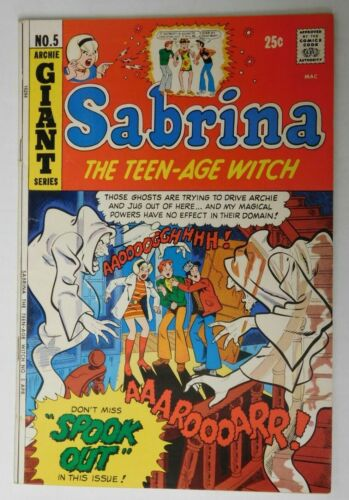 SABRINA The Teen-Age Witch #5 - Archie 1972 VG+ Vintage Comic