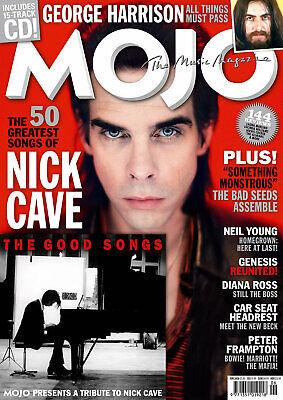 MOJO MAGAZINE + CD JUNE 2020 (NICK CAVE, GEORGE HARRISON, NEIL YOUNG, GENESIS)