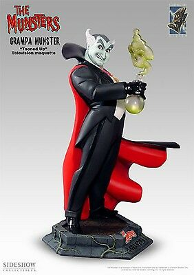 ELECTRIC TIKI GRAMPA MUNSTER MAQUETTE NIB! LOW #51/250 STATUE Family MONSTERS