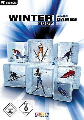 RTL Winter Games 2007 Winterspiele Wintersport Simulator Game für Pc Neu Ovp (Sport-spiele Für Pc)