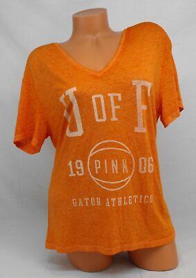 Victoria's Secret PINK University of Florida Gators T-Shirt Oversized X-Small University Pink Shirt