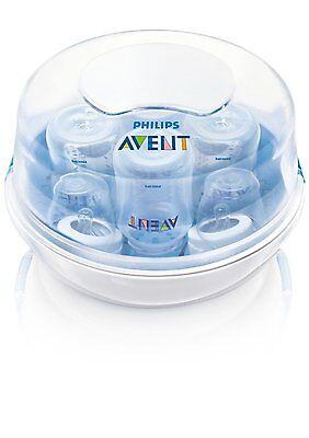 NEU Baby Philips Avent Mikrowellensterilisator Starter Set Sterili Satoren