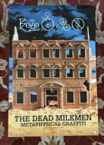 THE DEAD MILKMEN  Metaphysical Graffiti  rare original promotional poster  PUNK