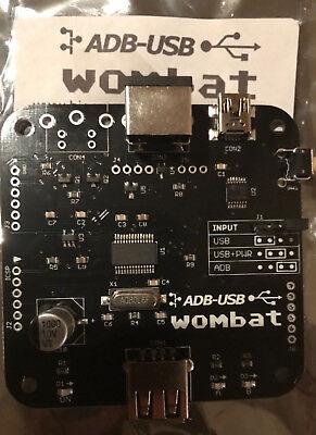 New Wombat ADB to USB or USB to ADB Convertor beats  Imate both ways NeXT Apple