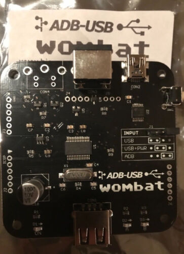 New Wombat ADB to USB or USB to ADB Convertor beats  Imate both ways NeXT Apple
