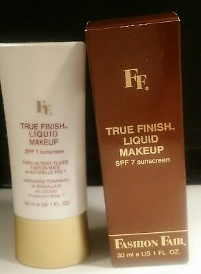 Fashion Fair True Finish Liquid Makeup Honey Amber Liquid Makeup Honey