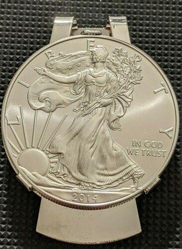 BLACKS: American Liberty One Ounce Pure Silver Money Clip