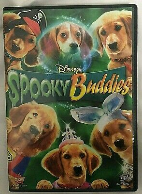 Disney Dog Halloween Spooky Buddies DVD - Disney Halloween Movie Dogs