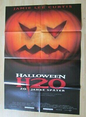 Filmplakat : Halloween H20 20 Jahre später ( Jamie Lee Curtis , Josh Hartnett )