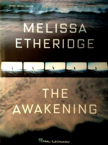 Melissa Etheridge The Awakening Piano Vocal Guitar Book NEW! OUT OF PRINT!
