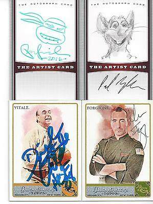Allen   Ginters Espn College Basketball Analyst Dick Vitale Signed Card