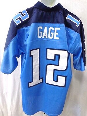 Tennessee Titans Gage NFL Equipment Premier Football Jersey Light Blue - Titans Tennessee